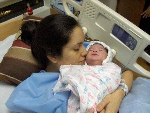 Ser mamá es llevar un hijo en tu corazón toda la vida