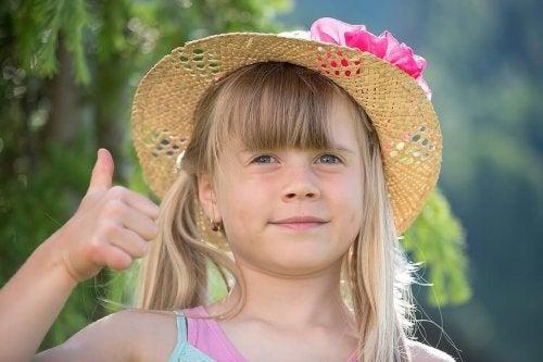 9 frases positivas para los niños
