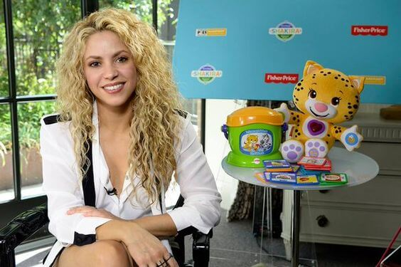 Shakira nos atrapa con su App: Grow Parenting