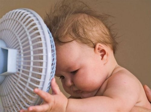 Trucos para que el niño pase menos calor