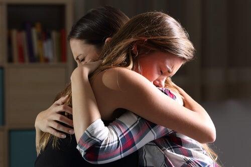 La importancia de los abrazos.