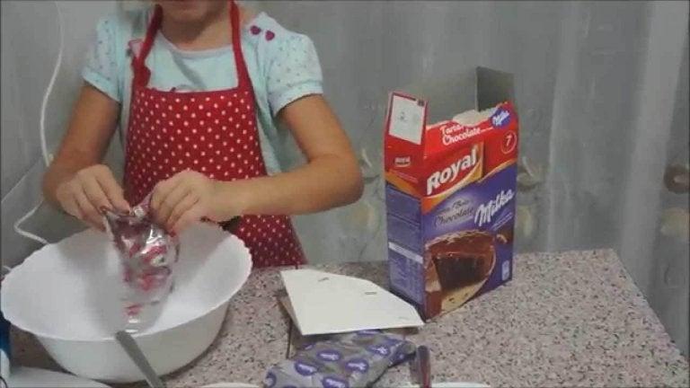 Papa, ¡te he hecho un pastel!