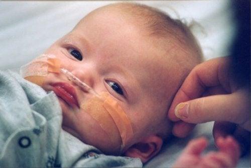 La lucha de una madre por la salud de su hijo