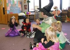 A_kindergarten_in_united_states,_at_halloween_day