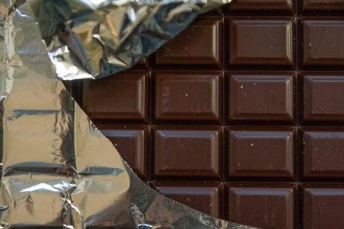 el chocolate eleva la presion