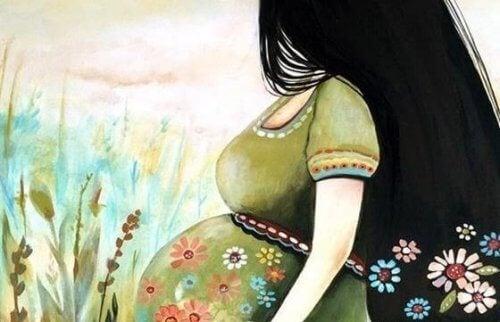 Dentro de tu vientre crece un mundo nuevo