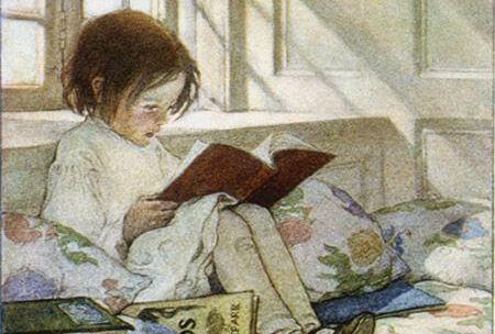 niña leyendo