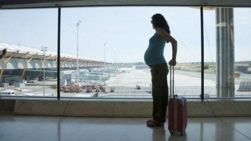 Consejos de vuelo para embarazadas