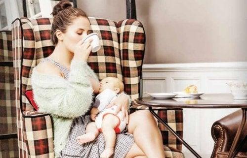 Suplementos nutricionales durante la lactancia