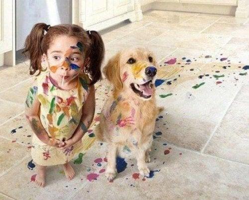 Las travesuras de los niños nos hacen reír