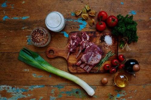 alimentos ricos en hierro y vitamina c