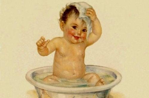 El primer baño del recién nacido