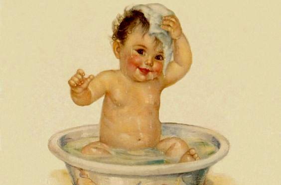 ¡Mamá ya me baño solito!