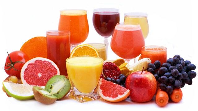 frutas y verduras variadas