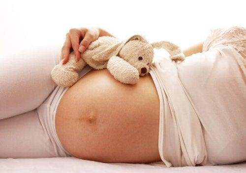 linea negra en la panza en el embarazo