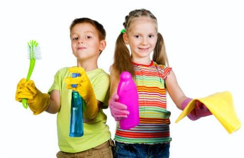 5 estrategias para que tu hijo colabore con las tareas de la casa