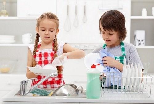 niños con responsabilidades