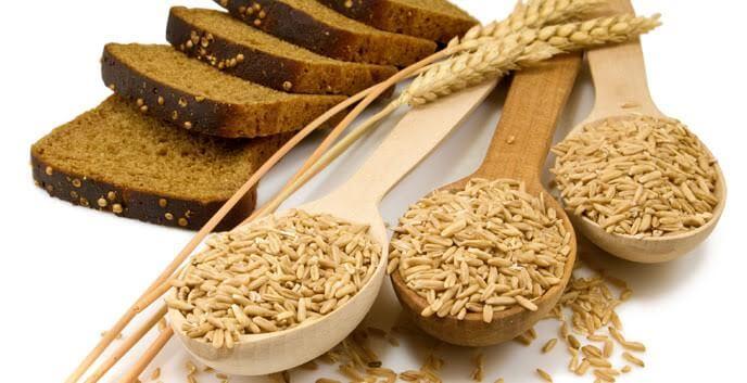 Salvado de trigo durante el postparto