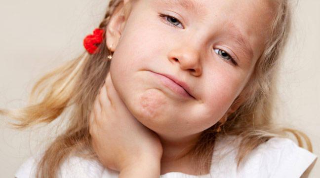 La amigdalitis en los niños
