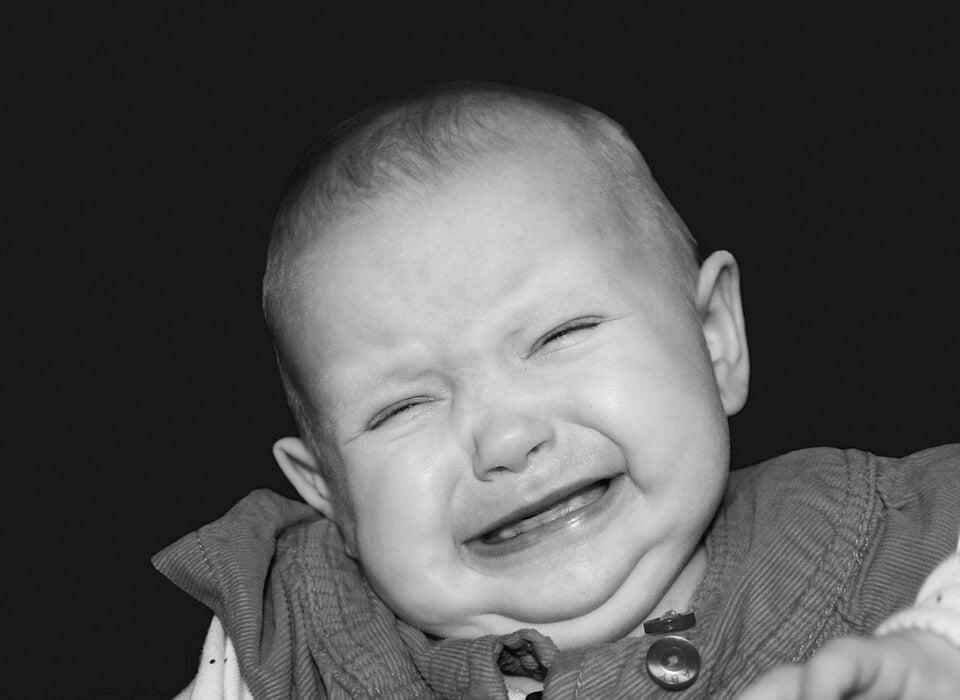 Cómo reaccionar ante los gritos de un niño
