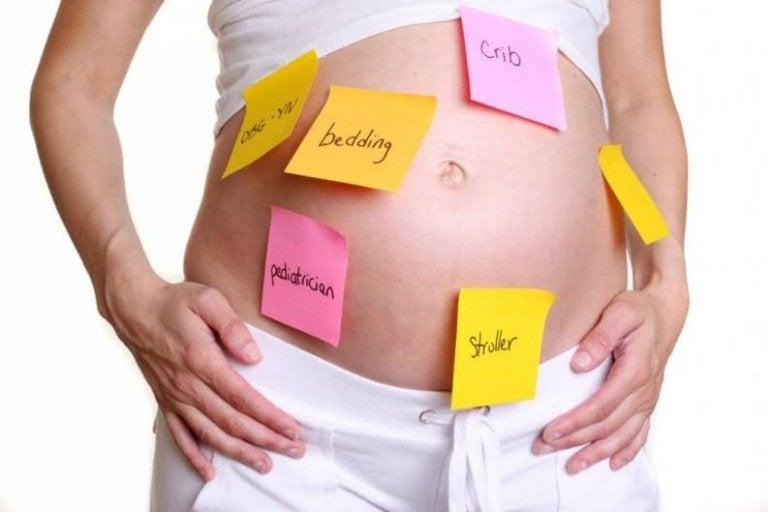 Falta de memoria durante el embarazo. ¿Por qué?