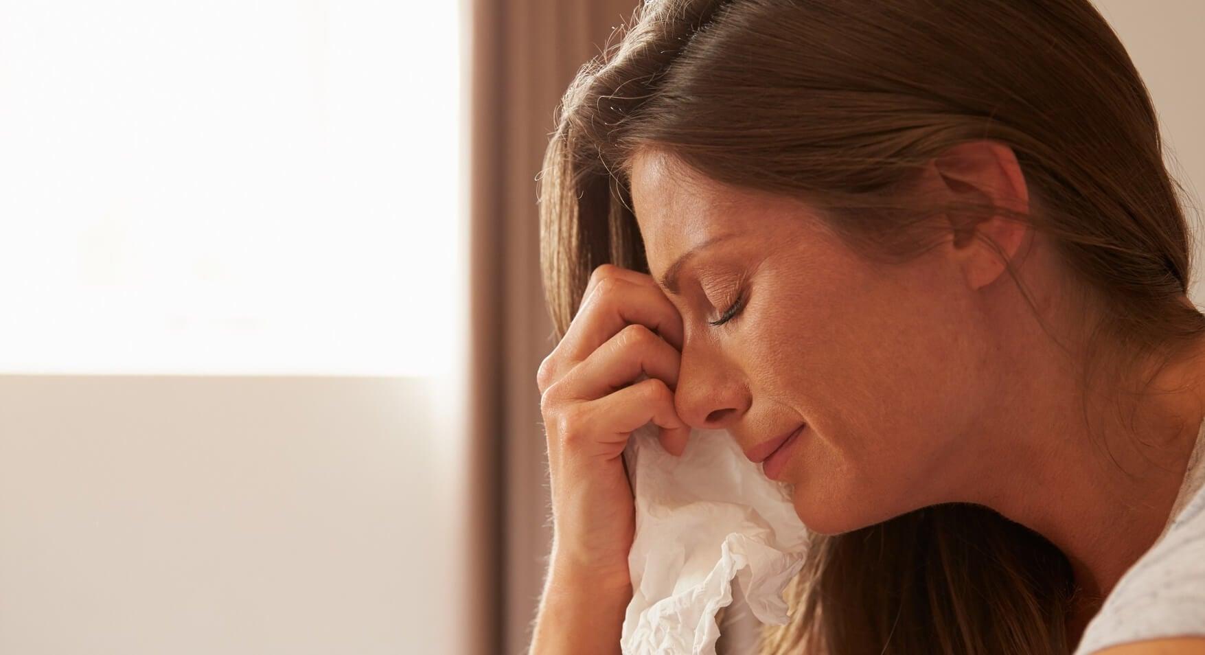 Las mamás también lloran: por miedo, estrés o cansancio