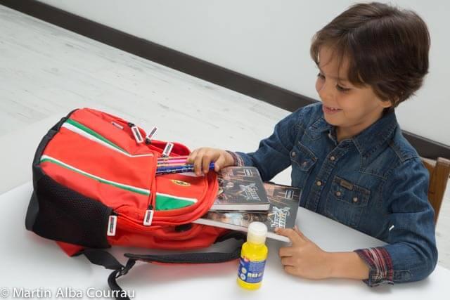 ¿Por qué las mochilas de los niños no deben ser pesadas?