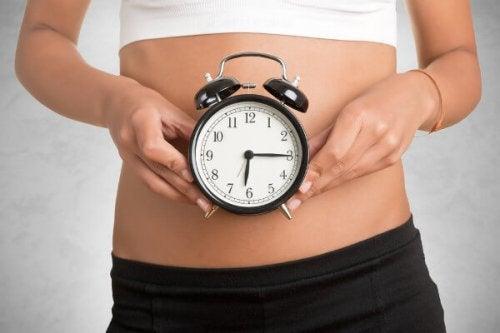 reloj biológico de la mujer
