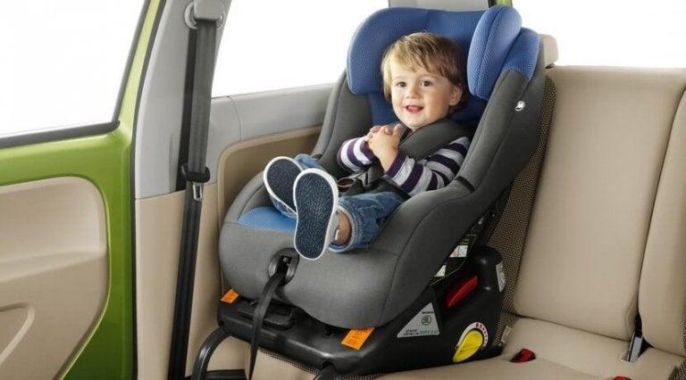 ley de sillas de auto para niños 2016