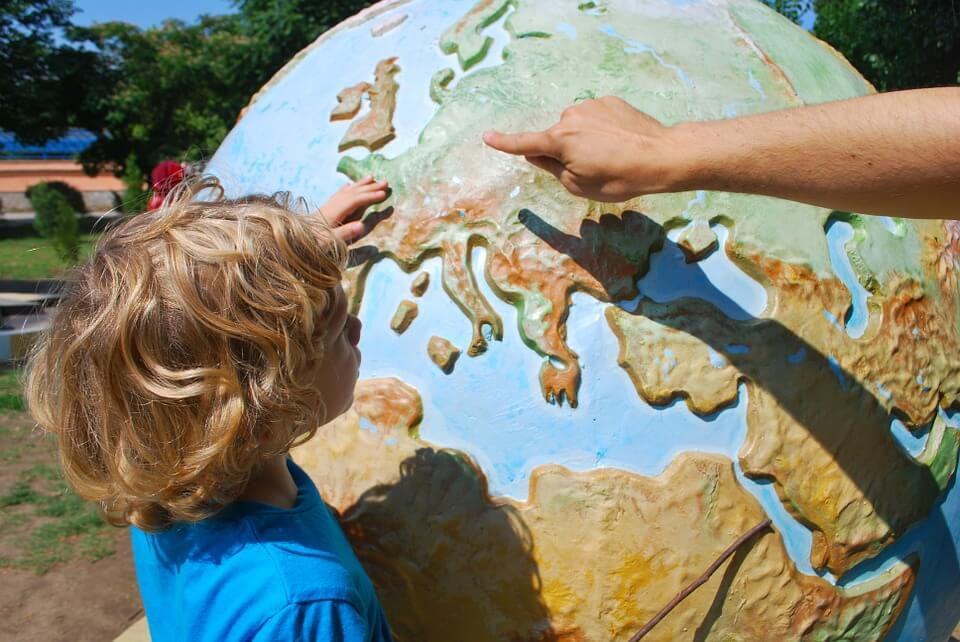 Viajar con niños: beneficios educativos