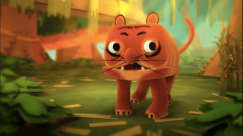 Otra de las series de televisión para bebés es ZooBabu.