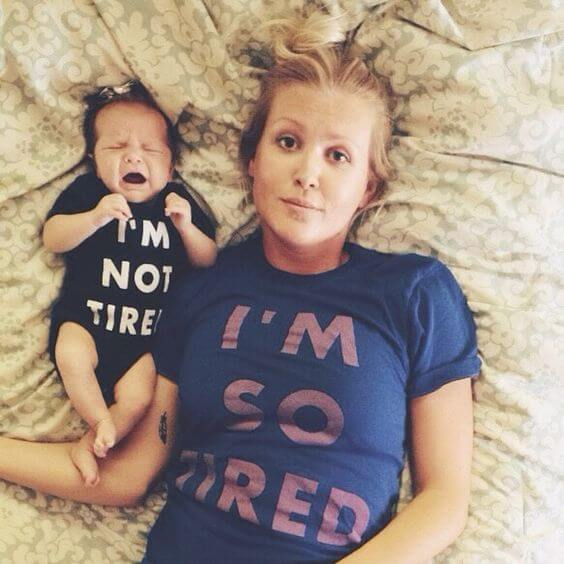 Los peligros de ser una madre cansada
