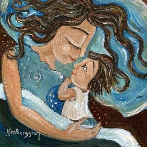 El cariño de un hijo se compra con amor