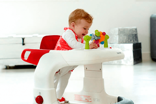 Los andadores para bebés son un gran juguete para ellos.