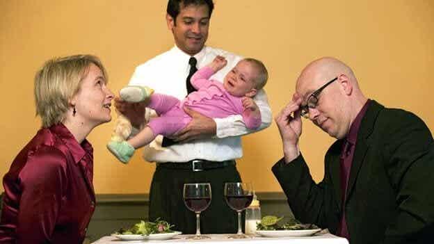 El reto de llevar a los niños a un restaurante