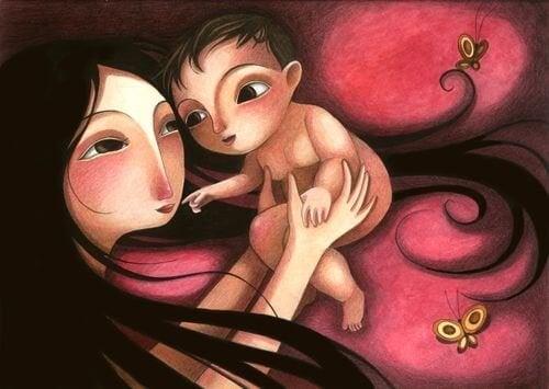 Lo importante de dar amor a un niño es que lo sienta
