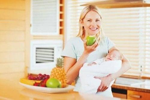 alimentacion durante la lactancia materna para evitar colicos
