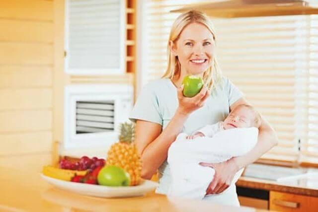 alimentacion de madre lactante
