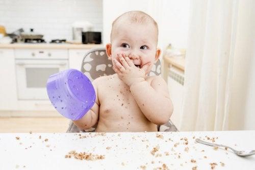 Consejos para dejar atrás la comida triturada