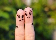 pareja triste por infertilidad secundaria