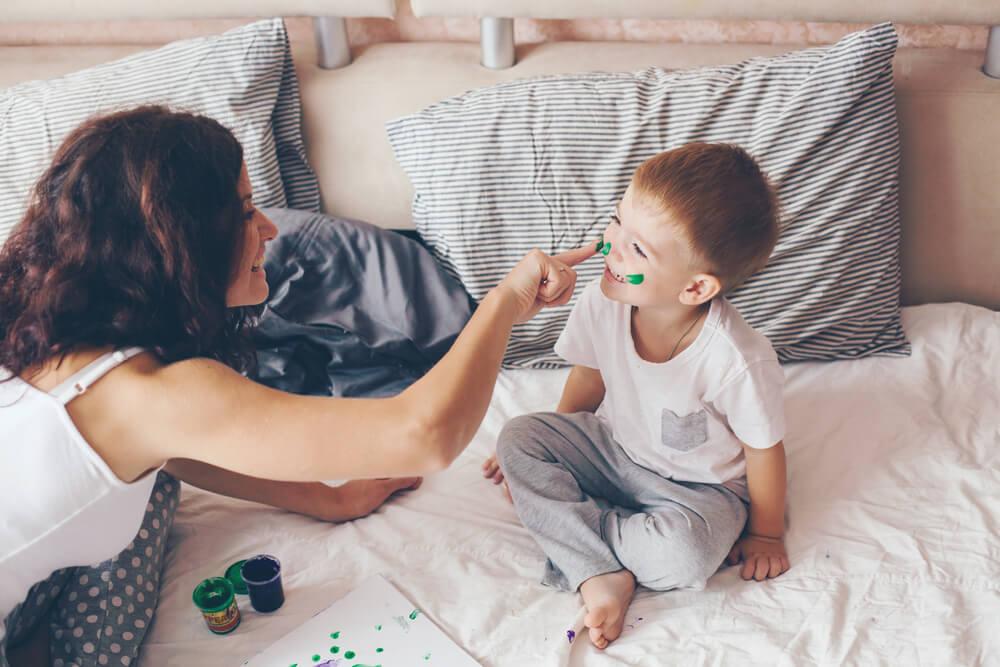 2 actividades sensoriales para niños