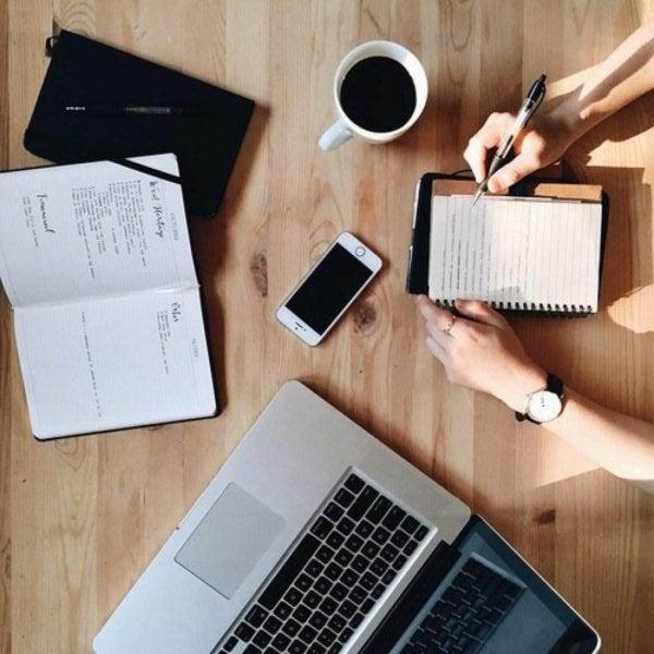 Mantén organizada tu zona de trabajo