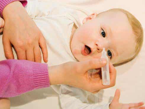 Suero fisiológico: solución mágica contra la gripe