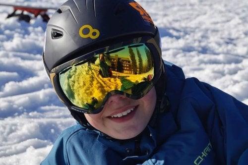 Los beneficios del esquí para los niños