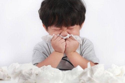 5 hábitos saludables en los niños para prevenir gripes y resfriados
