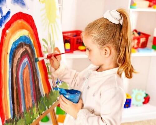 Las habilidades artísticas deben desarrollarse desde la niñez.