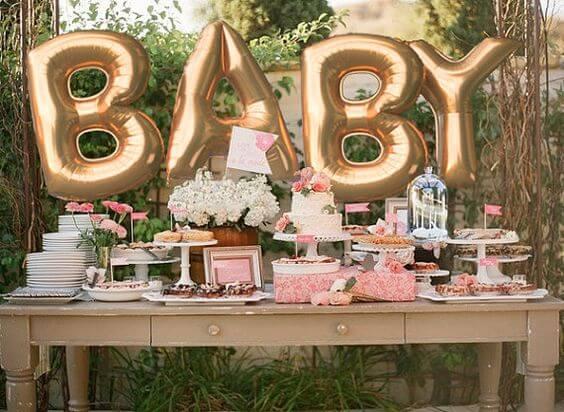 7 cosas que no deben faltar en tu baby shower