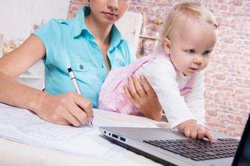 Los retos de una mamá emprendedora