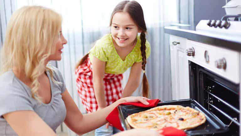 Mamá y chef: pizza fácil y casera