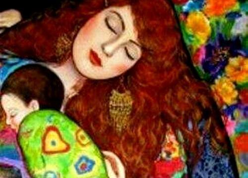 mamá con bebé emociones